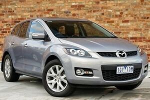 2007 Mazda CX-7 ER1031 MY07 Luxury Silver 6 Speed Sports Automatic Wagon North Melbourne Melbourne City Preview