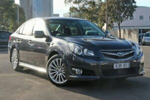 2009 Subaru Liberty B5 MY10 2.5i Sports Lineartronic AWD Premium Grey 6 Speed Constant Variable Docklands Melbourne City Preview