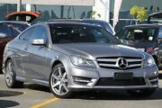 2011 Mercedes-Benz C250 CDI C204 BlueEFFICIENCY 7G-Tronic Silver 7 Speed Sports Automatic Coupe Wavell Heights Brisbane North East Preview
