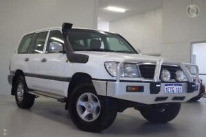 2000 Toyota Landcruiser FZJ105R GXL White 4 Speed Automatic Wagon Myaree Melville Area Preview