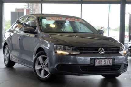 2012 Volkswagen Jetta 1B MY13 103TDI DSG Comfortline Grey 6 Speed Sports Automatic Dual Clutch Sedan Yeerongpilly Brisbane South West Preview