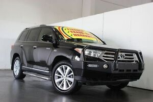 2012 Toyota Kluger GSU45R MY11 Upgrade Grande (4x4) Black 5 Speed Automatic Wagon Underwood Logan Area Preview