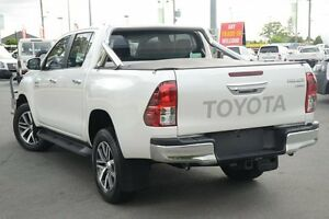 2015 Toyota Hilux GUN126R SR5 Double Cab Crystal Pearl 6 Speed Sports Automatic Utility Acacia Ridge Brisbane South West Preview