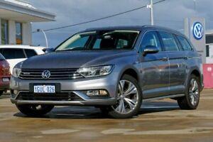 2018 Volkswagen Passat 3C (B8) MY18 140TDI DSG 4MOTION Alltrack Billet Silver 6 Speed Mandurah Mandurah Area Preview