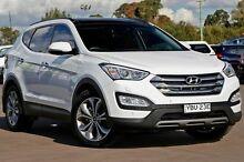 2015 Hyundai Santa Fe DM2 MY15 Highlander White 6 Speed Sports Automatic Wagon McGraths Hill Hawkesbury Area Preview