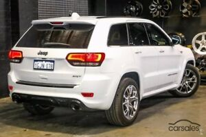 2014 Jeep Grand Cherokee WK MY15 SRT White 8 Speed Sports Automatic Wagon