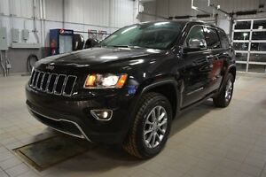 2016 Jeep Grand Cherokee LIMITED 4X4 Leather,  Heated Seats,  Su