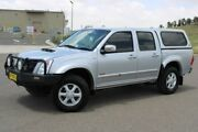 2007 Holden Rodeo RA MY07 LT Crew Cab Silver 5 Speed Manual Utility Run-o-waters Goulburn City Preview