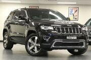 2014 Jeep Grand Cherokee WK Limited Brilliant Black Sports Automatic Wagon Chatswood Willoughby Area Preview
