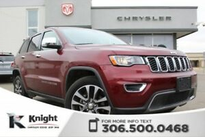 2018 Jeep Grand Cherokee Limited - Navigation - Heated Leather S