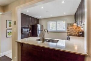 Absolutely Gorgeous 3+1 B/R Condo T/House With Fin Bsm Near BCC