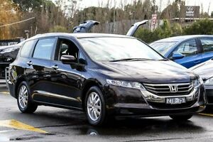 2013 Honda Odyssey RC MY14 VTi Cherry Black 7 Speed Constant Variable Wagon Ringwood East Maroondah Area Preview