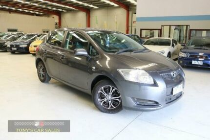 2009 Toyota Corolla ZRE152R Ascent Grey 6 Speed Manual Hatchback Laverton North Wyndham Area Preview