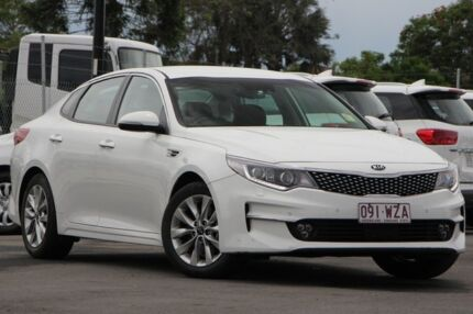 2016 Kia Optima JF MY17 SI White 6 Speed Sports Automatic Sedan Brendale Pine Rivers Area Preview