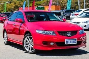 2007 Honda Accord Euro CL MY2007 Red 5 Speed Automatic Sedan Myaree Melville Area Preview