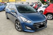 2015 Hyundai i30 GD3 SERIES II M Active X Blue 6 Speed Sports Automatic Hatchback Buderim Maroochydore Area Preview