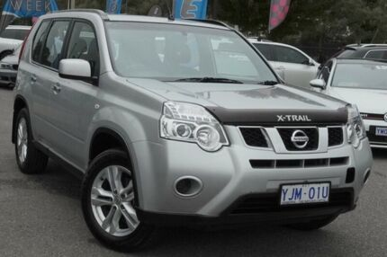 Nissan x trail st 2wd 6 speed manual 6 cars vans utes gumtree 2013 nissan x trail t31 series v st 2wd brilliant silver 6 speed manual wagon fandeluxe Gallery