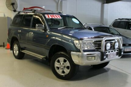2007 Toyota Landcruiser GXL Blue 5 Speed Automatic Wagon Southport Gold Coast City Preview