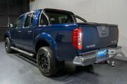 2012 Nissan Navara D40 MY12 ST-X 550 (4x4) Blue 7 Speed Automatic Dual Cab Utility Woodridge Logan Area Preview