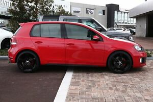 2011 Volkswagen Golf VI MY11 GTI DSG Red 6 Speed Sports Automatic Dual Clutch Hatchback Osborne Park Stirling Area Preview