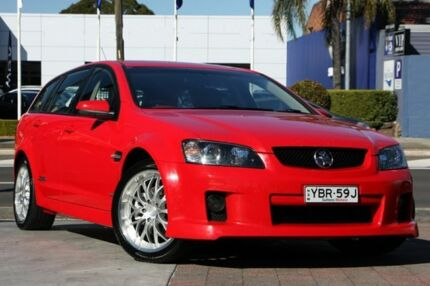 2009 Holden Commodore VE MY09.5 SS-V Red Hot 6 Speed Manual Sportswagon Waitara Hornsby Area Preview