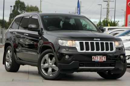 2011 Jeep Grand Cherokee WK MY2011 Overland Black 5 Speed Sports Automatic Wagon