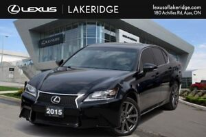 2015 Lexus GS 350 F Sport, No Accidents, Navi / Leather / Roof /