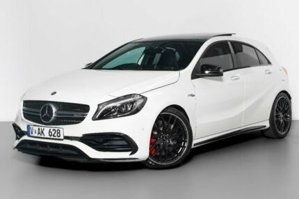 2015 Mercedes-Benz A45 W176 806MY AMG SPEEDSHIFT DCT 4MATIC White 7 Speed Port Melbourne Port Phillip Preview