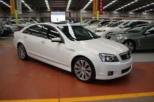 2015 Holden Caprice WN MY15 V White 6 Speed Sports Automatic Sedan Maryville Newcastle Area Preview
