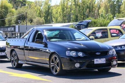 2006 Ford Falcon BF XR8 Ute Super Cab Black 6 Speed Sports Automatic Utility Ringwood East Maroondah Area Preview