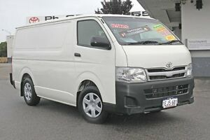 2013 Toyota Hiace KDH201R MY12 LWB French Vanilla 4 Speed Automatic Van Hillman Rockingham Area Preview