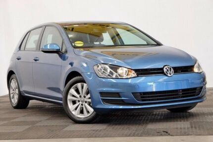 2015 Volkswagen Golf VII MY16 92TSI DSG Comfortline Blue 7 Speed Sports Automatic Dual Clutch