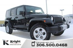 2015 Jeep Wrangler Unlimited Sahara - LOW KMs - Accident Free -