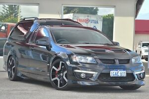 2011 Holden Special Vehicles Maloo E Series 3 MY12 R8 Black 6 Speed Manual Utility Bayswater Bayswater Area Preview