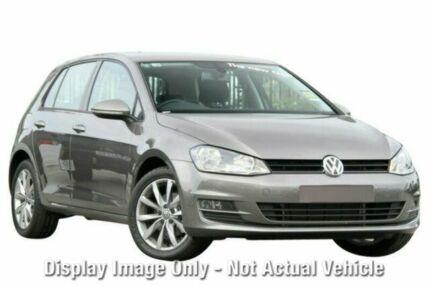 2016 Volkswagen Golf AU MY17 110 TSI Highline Limestone Grey 7 Speed Auto Direct Shift Hatchback