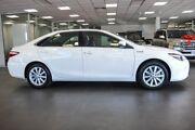2015 Toyota Camry AVV50R Atara S White 1 Speed Constant Variable Sedan Hybrid Bellevue Swan Area Preview