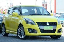 2014 Suzuki Swift FZ MY14 Sport Yellow 6 Speed Manual Hatchback Moorooka Brisbane South West Preview