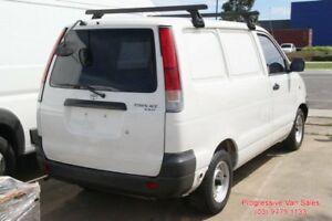 2002 Toyota Townace DUEL FUEL VAN White 5 Speed Manual Panel Van