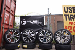 """21"""" FORD EDGE SPORT WHEELS FACTORY ORIGINAL OEM**RIMS AND TIRES*"""