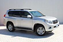 2013 Toyota Landcruiser Prado KDJ150R VX Silver 5 Speed Sports Automatic Wagon Embleton Bayswater Area Preview