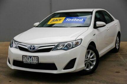 2012 Toyota Camry  White Constant Variable Sedan Mentone Kingston Area Preview