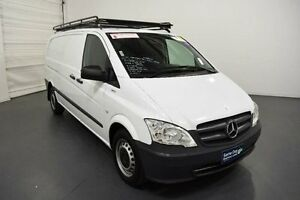 2011 Mercedes-Benz Vito 639 MY11 113CDI LWB White Automatic Van Moorabbin Kingston Area Preview