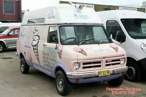 1979 Bedford CFL ICE CREAM VAN FOOD VAN Pink & Purple 3 Speed Manual Van Carrum Downs Frankston Area Preview