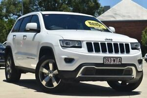 2014 Jeep Grand Cherokee WK MY15 Limited White 8 Speed Sports Automatic Wagon Toowoomba Toowoomba City Preview