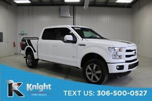 2015 Ford F-150 Lariat Lifted, Navigation, Moon Roof