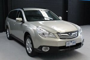 2010 Subaru Outback B5A 2.5I Gold Constant Variable Wagon Knoxfield Knox Area Preview