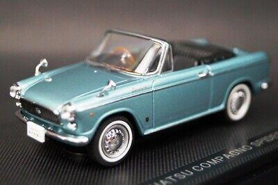 1:43 EBBRO 43715 Daihatsu Compagno Spider 1965 Blue model cars