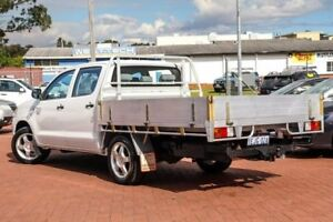 2007 Toyota Hilux TGN16R MY07 Workmate White 5 Speed Manual Utility