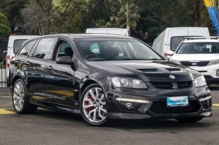 2010 Holden Special Vehicles Clubsport E Series 3 R8 Tourer Black 6 Speed Sports Automatic Wagon