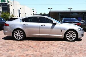 2012 Jaguar XF X250 MY12 Luxury Silver 8 Speed Sports Automatic Sedan Osborne Park Stirling Area Preview